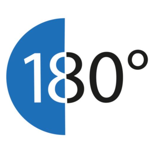 180grad Design Logo ohne Namen
