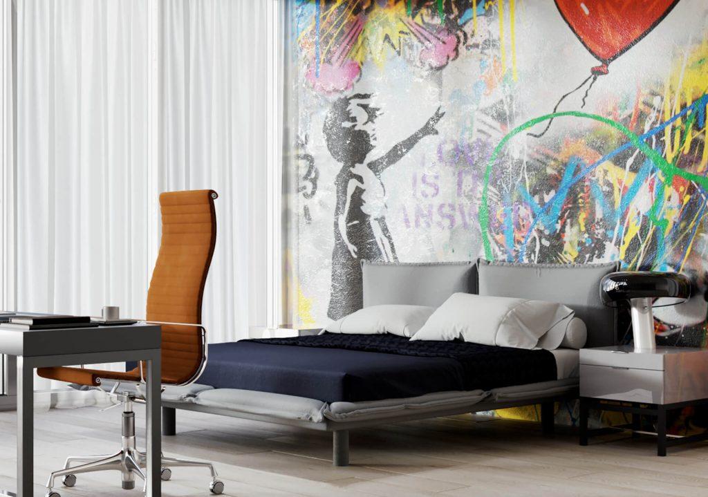 3D Immobilien Visualisierung Schlafzimmer