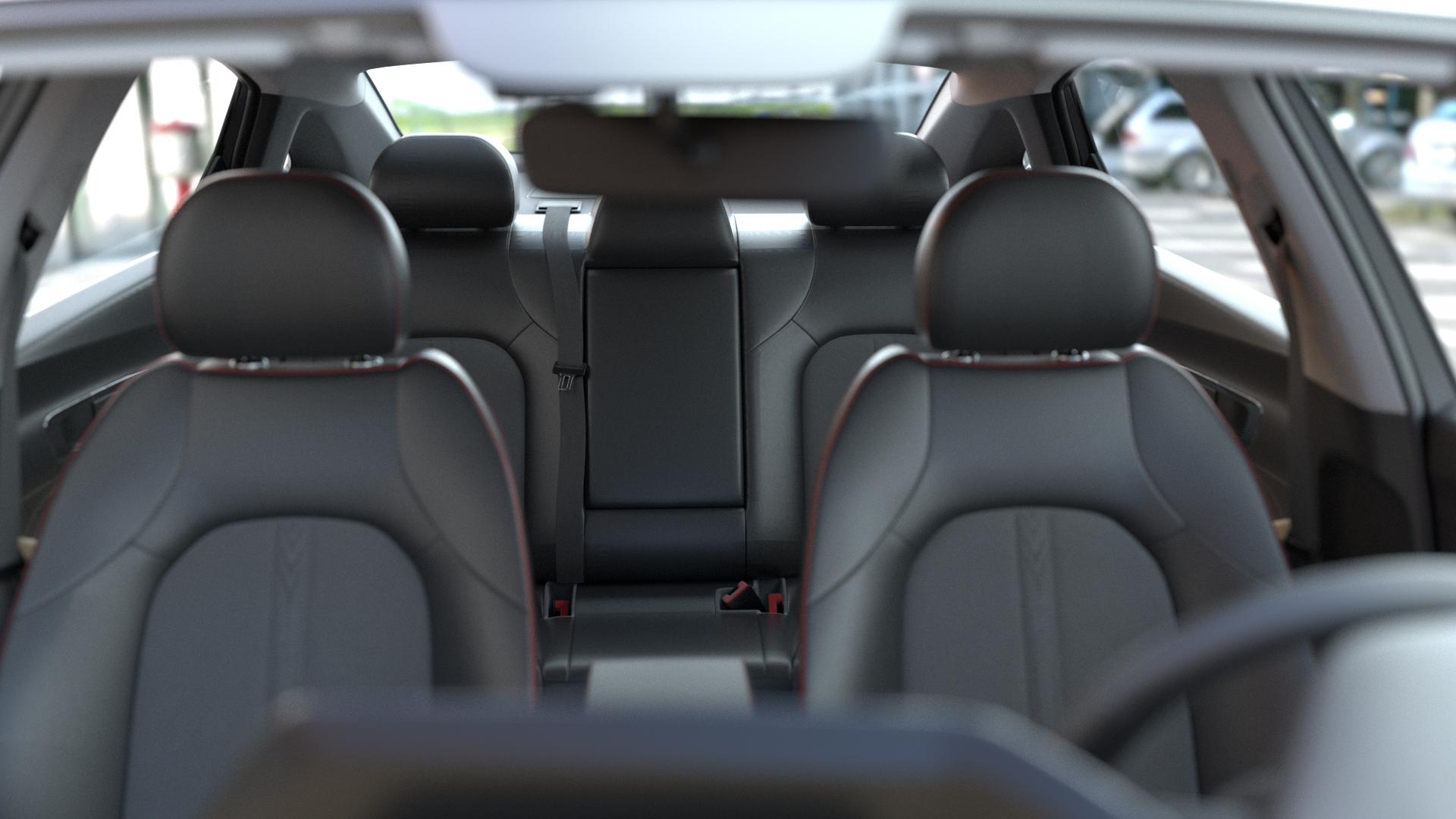 3D Visualisierung Autositze