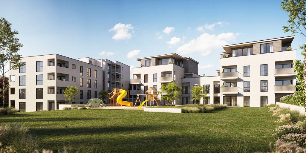 3D Immobilien Visualisierung Aussenansicht